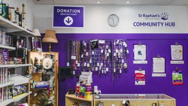 St Raphael's Hospice introduces its first community-friendly shop in Banstead