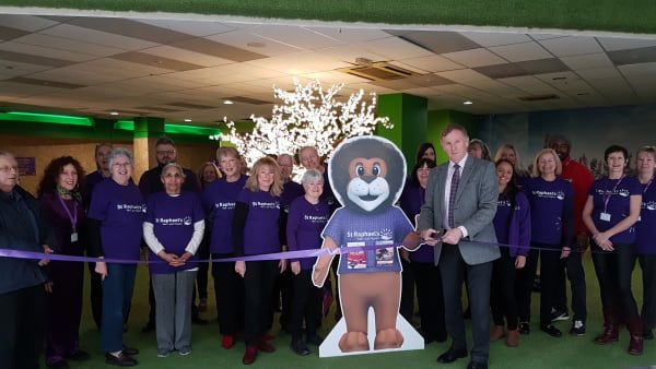 St Nicholas shopping centre sets up community hub for a local hospice