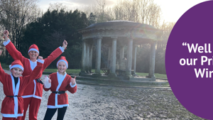 Virtual Santa Dash helps to raise £4,255!